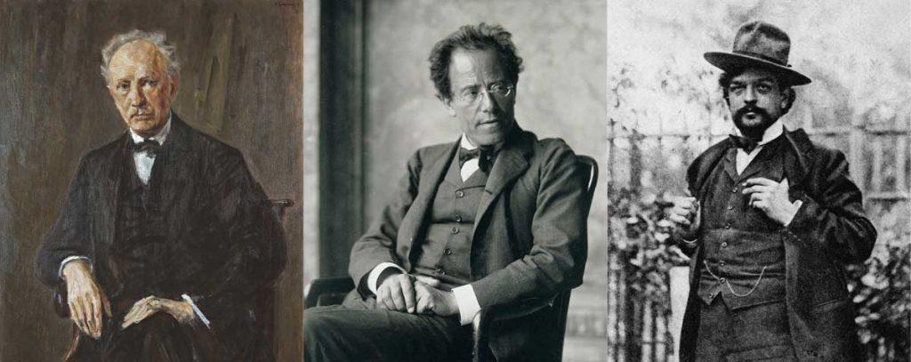 Strauss Mahler Deussy